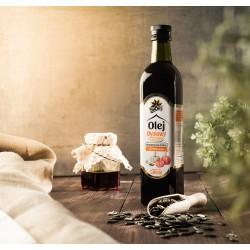 Olej z Pestek Dyni tłoczony...