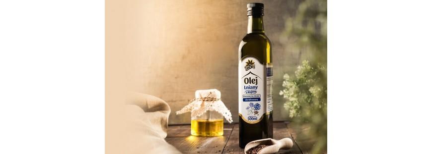 Olej lniany - dobroczynny wpływ na jelita