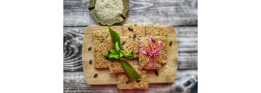 PRZEPIS: Krakersy z siemienia lnianego